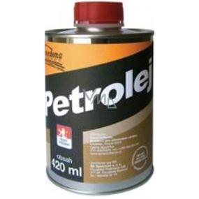 Severochema Petrolej určen na svícení v petrolejových lampách a čištění 420 ml v plechovce