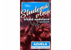Valea Azuela Studená vlna s azulenem trvalá ondulace s azulenem pro šedivé a barvené vlasy 100 ml