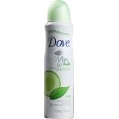 Dove Go Fresh Touch Okurka & Zelený čaj antiperspirant deodorant sprej pro ženy 150 ml