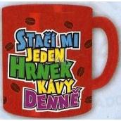Nekupto Dárky s humorem Hrnek maxi Stačí mi jeden hrnek kávy denně 0,8 l