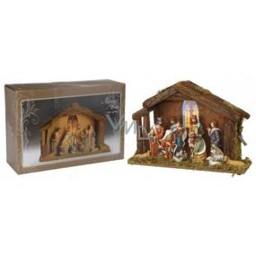 Betlém figurky 470 x 340 mm