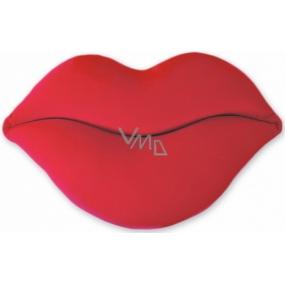 Albi Humorný polštář Červené rty šířka 40 cm, výška 23 cm