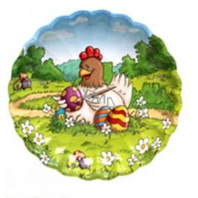 Ditipo Papírový talíř Velikonoční Slepička 22 cm
