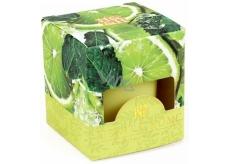 Heart & Home Citrusový gejzír Sojová vonná svíčka bez obalu hoří až 15 hodin 53 g