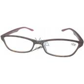 Berkeley Čtecí dioptrické brýle +2,0 plastové hnědé obruby, bordó 1 kus ER4133