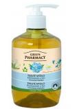Green Pharmacy Heřmánek a Len tekuté uhlazující mýdlo 460 ml