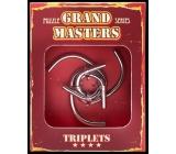 Albi Grand Masters kovový hlavolam - Triplets 4/4
