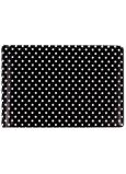 Albi Pouzdro na vizitky, karty černé Puntíky 9,5 cm x 7 cm