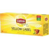 Lipton Yellow Label černý aromatizovaný čaj 25 nálevových sáčků 50 g