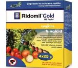 Agro Ridomil Gold MZ fungicid Pepite přípravek na ochranu rostlin 4 x 25 g