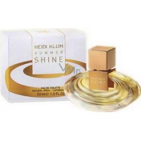 Heidi Klum Summer Shine toaletní voda pro ženy 30 ml