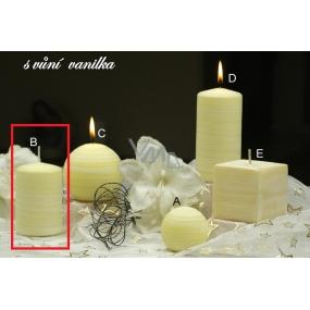 Lima Wellness Vanilka aroma svíčka válec 60 x 90 mm 1 kus