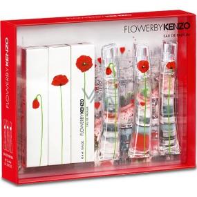 Kenzo Flower By Kenzo parfémovaná voda pro ženy 3 x 4 ml, dárková sada