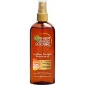 Garnier Ambre Solaire Golden Protect OF20 olej na opalování 150 ml