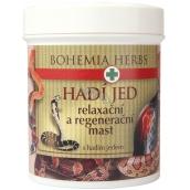 Bohemia Gifts & Cosmetics Hadí jed Relaxační a regenerační mast se syntetickým hadím jedem SYN-AKE 25 ml