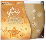 Glade Homemade Biscuit Delight vonná svíčka ve skle doba hoření až 30 hodin 120 g
