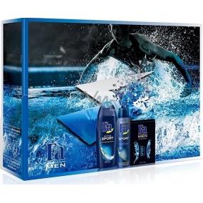Fa Men Sport Premium sprchový gel 250 ml + antiperspitant deodorant sprej 150 ml + voda po holení 100 ml, kosmetická sada