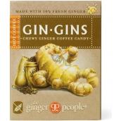 Gin Gins Hot Coffee zázvorové žvýkací bonbony s kávou 42 g