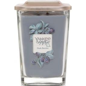 Yankee Candle Dark Berries - Ostružiny sojová vonná svíčka Elevation velká sklo 2 knoty 553 g