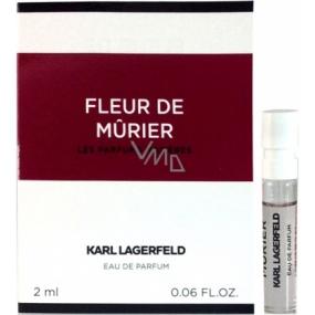 Karl Lagerfeld Fleur de Murier parfémovaná voda pro ženy 2 ml s rozprašovačem, vialka