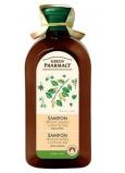 Green Pharmacy Březové pupeny a Ricinový olej šampon proti lupům 350 ml