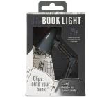 If The Little Book Light Mini lampička retro Šedá 118 x 85 x 35 mm
