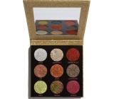 Makeup Revolution Pressed Glitter Midas Touch paletka třpytek 10,8 g