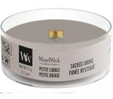 WoodWick Sacred Smoke - Mystický kouř vonná svíčka s dřevěným knotem petite 31 g