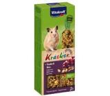 Vitakraft Kracker Tyčinky z hroznového vína a ořechů doplňkové krmivo pro křečky 2 kusy