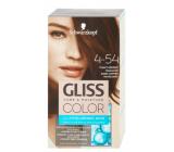 Schwarzkopf Gliss Color barva na vlasy 4-54 Tmavě měděný mahagon 2 x 60 ml