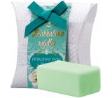 Moje Hraběnčino mýdlo Přírodní oves a Peeling luxusní dárkové mýdlo 50 g