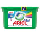 Ariel All in 1 Pods Touch of Lenor Fresh Color gelové kapsle na praní prádla 13 kusů 309,4 g