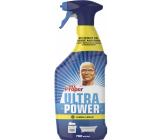 Mr. Proper Ultra Power Lemon univerzální čistič na odstraňování prachu, mastnoty a nečistot 750 ml rozprašovač