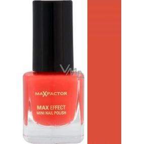 Max Factor Max Effect Mini Nail Polish lak na nehty 09 Diva Coral 4,5 ml