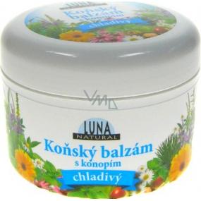 Luna Natural Koňský balzám s konopím chladivý 300 ml