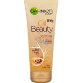 Garnier Oil Beauty Nourishing Scrub vyživující olejový tělový peeling 200 ml