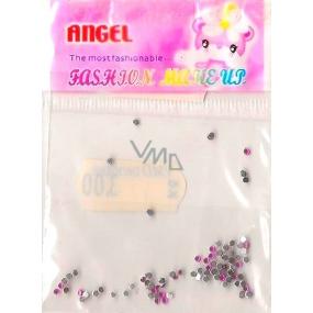 Angel Ozdoby na nehty kamínky růžové 1 balení