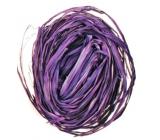 Raffia fialová nabarvené lýko k dekoraci 30 g