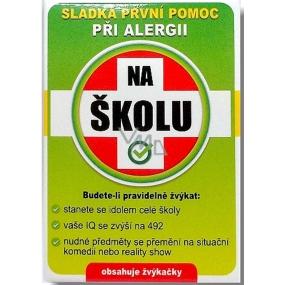 Nekupto Sladká první pomoc 2 Ovocné žvýkačky při alergii Na školu 10 ks 006