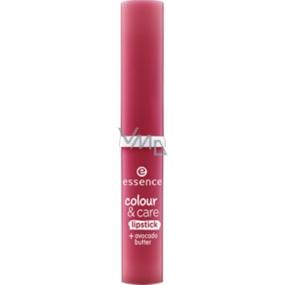 Essence Colour & Care rtěnka na rty pro intenzivní barvu 08 Stand Up For Plum! 1,9 g