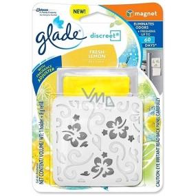 Glade by Brise Discrete Magnet Fresh Lemon osvěžovač vzduchu 8 g