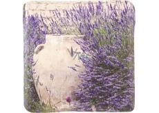 Bohemia Gifts & Cosmetics Amfora v levanduli dekorativní kachlík 10 x 10 cm