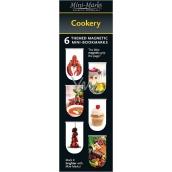 If Mini Mark Záložky Cookery 6 kusů