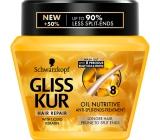Gliss Kur Oil Nutritive regenerační maska pro vlasy náchylné k třepení 300 ml