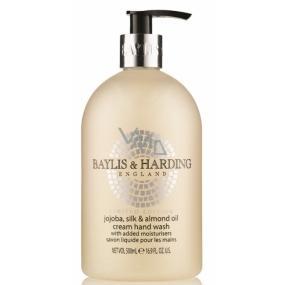 Baylis & Harding Jojoba, Hedvábí a Mandlový olej tekuté mýdlo na ruce 500 ml