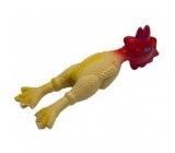 Trixie Latex Kuře pískací hračka pro malé psy 15 cm