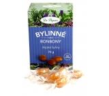 Dr. Popov Bylinné bonbony Alpské byliny pro zdravé mlsání, obsahujíextrakt z 21 alpských léčivých rostlin 70 g