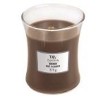 WoodWick Humidor - Pouzdro na doutníky vonná svíčka s dřevěným knotem a víčkem sklo střední 275 g
