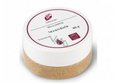 Aromatica Bebutter Bio Levandule tělový peeling 80 g