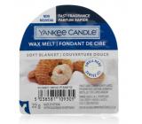 Yankee Candle Soft Blanket - Jemná přikrývka vonný vosk do aromalampy 22 g